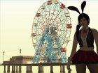 GTA IV Ferris Wheel Liberty Eye для GTA San Andreas вид сзади слева