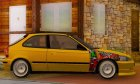 Honda Civic V Type для GTA San Andreas вид изнутри