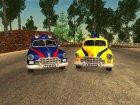 GAZ 12 Zim Soviet police
