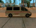 Ford Transit Ambulance для GTA San Andreas вид сверху
