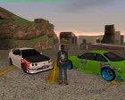 Новые бизнес машины для GTA San Andreas вид изнутри
