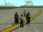 Пак новых скинов банд для GTA San Andreas