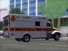 Freightliner M2 Chassis SACFD Ambulance for GTA San Andreas top view