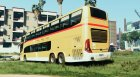 Marcopolo Paradiso 1800 DD - Swiss Post for GTA 5 rear-left view