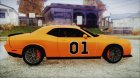 Dodge Challenger SRT-8 2015 Hellcat General Lee for GTA San Andreas rear-left view