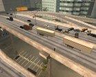Пак дальнобойщика №4 для GTA San Andreas вид изнутри