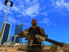 Pack weapon HD для GTA San Andreas вид слева
