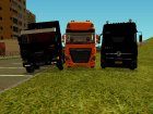 Пак грузовиков для GTA San Andreas вид сверху