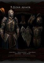 Noldor Content Pack - Нолдорское снаряжение 1.02 для TES V Skyrim вид сзади слева