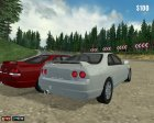 Nissan Skyline R33 GT-R '93 для Mafia: The City of Lost Heaven вид сзади слева