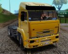 KAMAZ 5460 from movie Truckers 2