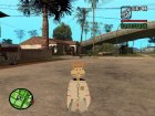 Sandy from Spongebob для GTA San Andreas вид сбоку