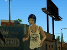 Chloe Price From Life Is Strange (Price Shirt Episode 4) для GTA San Andreas вид сверху