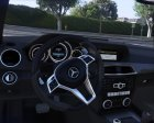 2014 Mercedes-Benz C63 AMG W204 1.0 for GTA 5 rear-left view