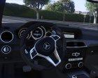 2014 Mercedes-Benz C63 AMG W204 1.0 для GTA 5 вид сзади слева