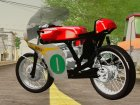 Honda RC166 V2.0 World GP 250 CC для GTA San Andreas вид сзади слева