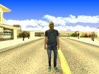 Грабитель for GTA San Andreas left view