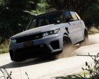 2016 Range Rover Sport SVR  v1.2 for GTA 5 rear-left view
