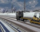 Winter mod for Euro Truck Simulator 2 side view