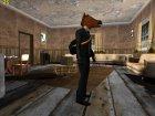 Skin GTA Online в маске коня v1 for GTA San Andreas back view