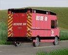Boxburg - Metro Fire Rescue 69 for GTA San Andreas side view