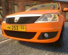 Dacia Logan Taxi for GTA 4 rear-left view