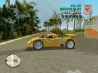 Nissan R390 GT1 v.1.125 для GTA Vice City вид слева
