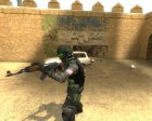 Opposing force inspired Urban для Counter-Strike Source вид сверху