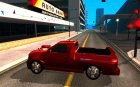 Dodge Dakota tuning для GTA San Andreas вид слева