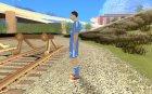 Криштиану Роналду v2 для GTA San Andreas вид слева