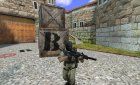 G36C Aimable With Silencer для Counter-Strike 1.6 вид сверху