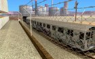 GTA IV Enterable Train for GTA San Andreas rear-left view