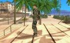 Новый солдат для GTA San Andreas вид слева