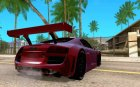 Audi R8 LMS for GTA San Andreas top view