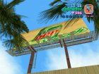 New Cinema Poster mod for GTA Vice City left view
