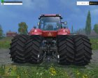 Case IH Magnum 380 Dynamic Rear Twin Wheels v1.1 for Farming Simulator 2015 rear-left view