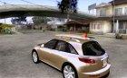 Infiniti FX45 2007 для GTA San Andreas вид сзади слева