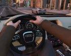 2009 Audi Q7 AS7 ABT 2.0 для GTA 5 вид сзади