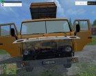 KamAZ-55102 v1.1 для Farming Simulator 2015 вид слева