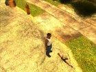 Хранение оружия (версия 2) для GTA San Andreas вид сзади слева