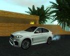BMW X6M 2015 для GTA San Andreas вид слева