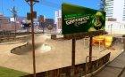 Современная Россия v. 0.1 для GTA San Andreas вид сзади слева