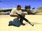 Чёрный AK47 for GTA San Andreas top view