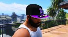 LA New Era Cap for Franklin for GTA 5 left view
