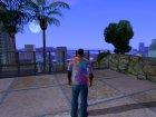 Футболка Психоделика для GTA San Andreas вид сверху