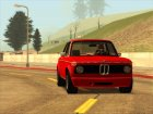 BMW 2002 Turbo 1973 Stock для GTA San Andreas вид изнутри