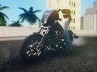 Harley-Davidson FXDLS Dyna Low Rider S 2016 для GTA San Andreas вид слева