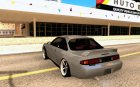 Nissan Silvia S14 for GTA San Andreas rear-left view