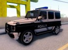 Mercedes-Benz G65 AMG BIH Police Car для GTA San Andreas вид слева