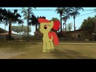Applebloom (My Little Pony) для GTA San Andreas вид слева